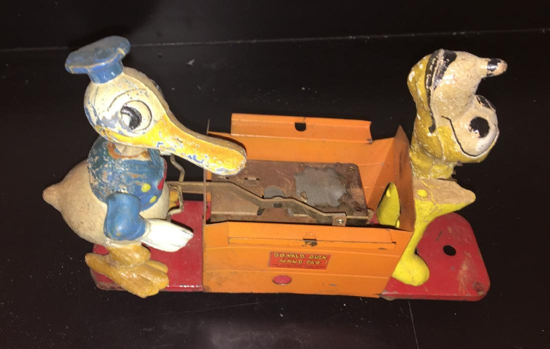 Lionel Prewar 1107 O Gauge Donald Duck Handcar