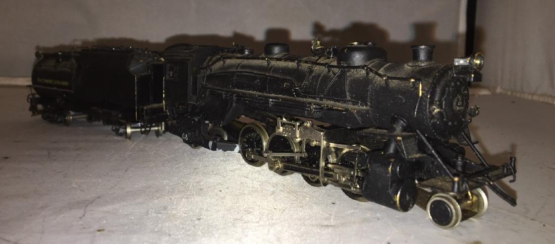 Brass B&O HO Scale Mikado Steam Engine - 2