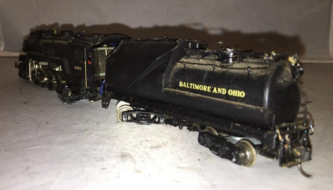Brass B&O HO Scale Mikado Steam Engine - 4
