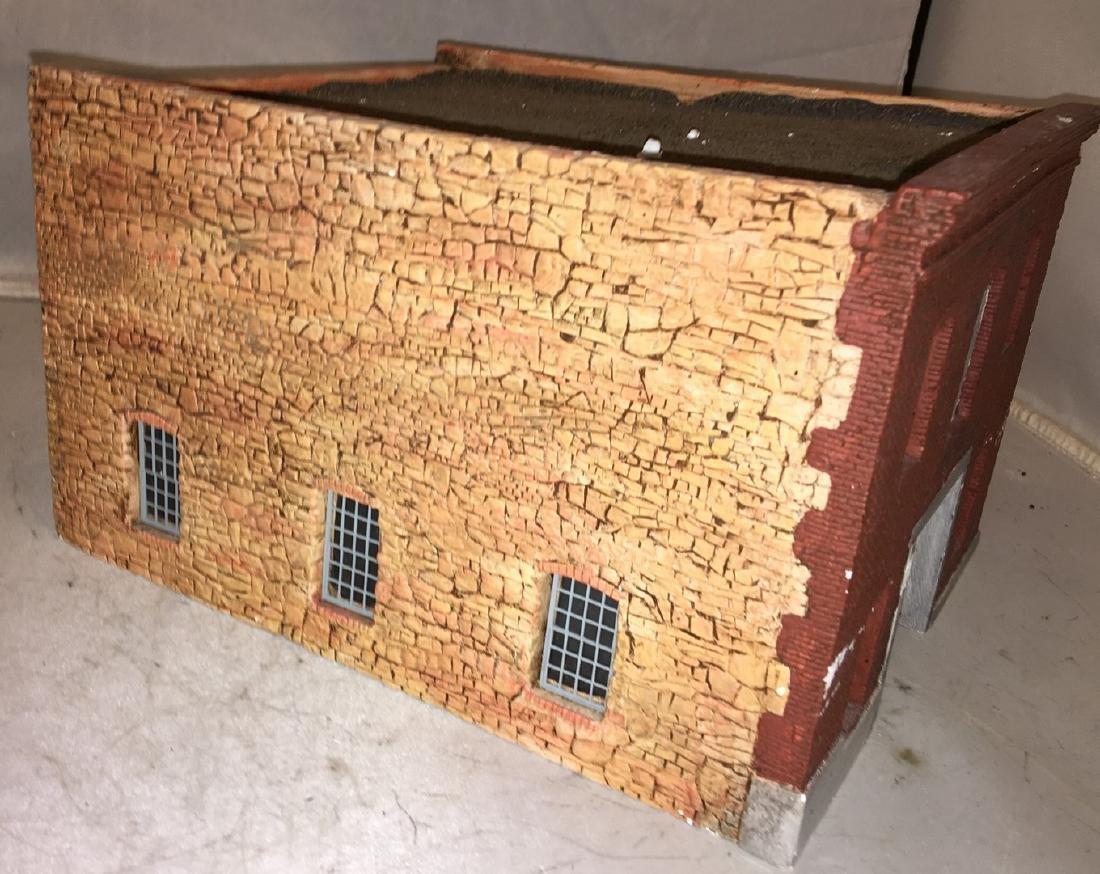 Cast Plaster O Gauge Factory Building - 2