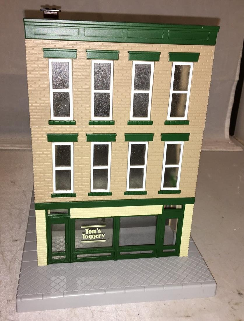 MTH Toms Toggerty O Gauge 3-Story Building - 2