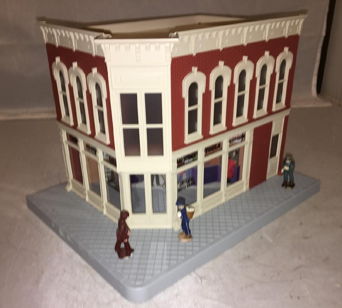 MTH Gateway O Gauge Auto Parts Building