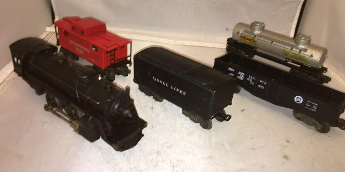 Lionel Postwar O Gauge Steam Freight Train