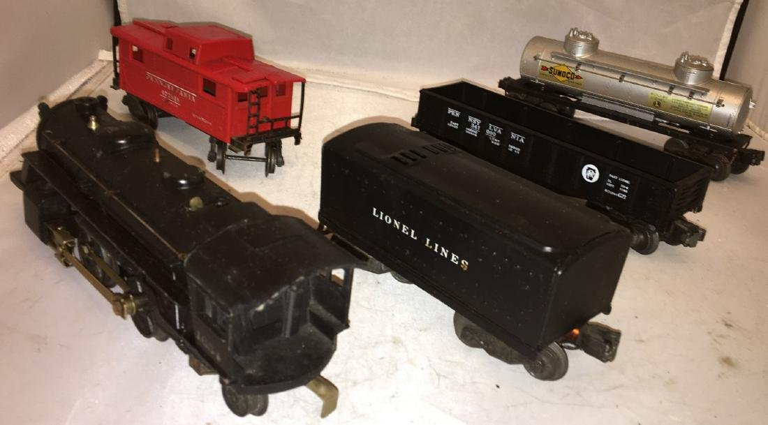 Lionel Postwar O Gauge Steam Freight Train - 2