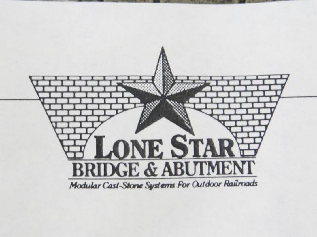 Lone Star G Scale Bridge Abutments - 3
