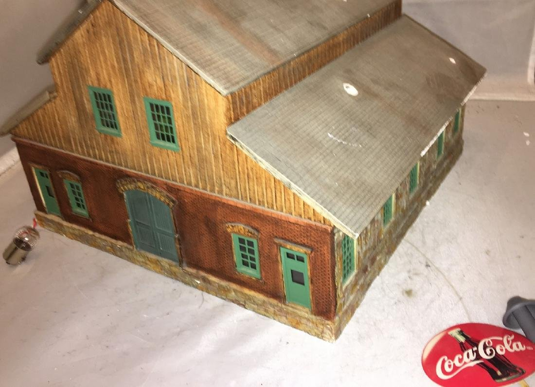 Cast Plaster O Gauge Coca Cola Plant - 3