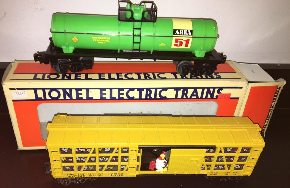 Lionel O Gauge Freight Assortment