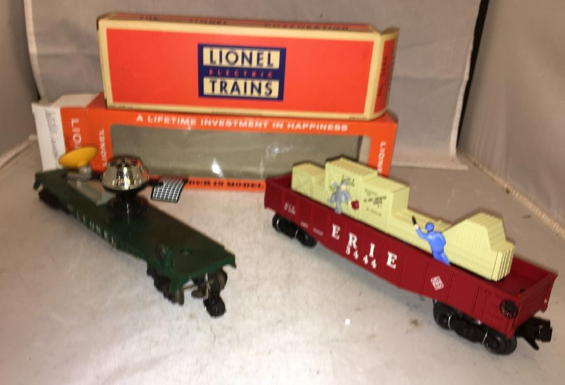 Lionel Postwar O Gauge Operating Freight Cars