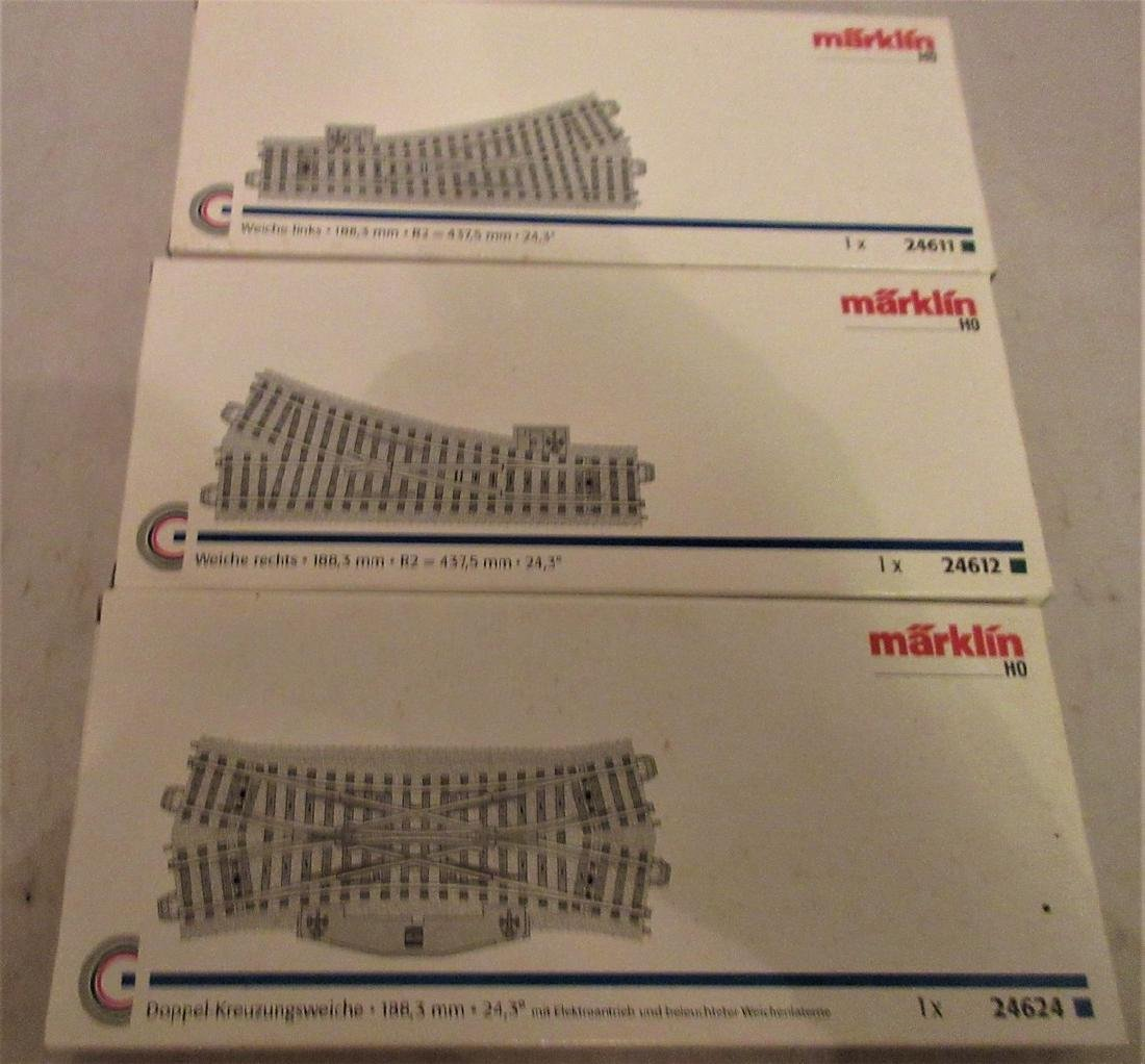Marklin HO Scale Switch Assortment