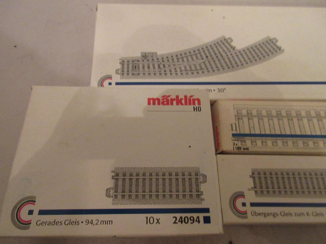 Marklin HO Scale Tracks and Switches - 3