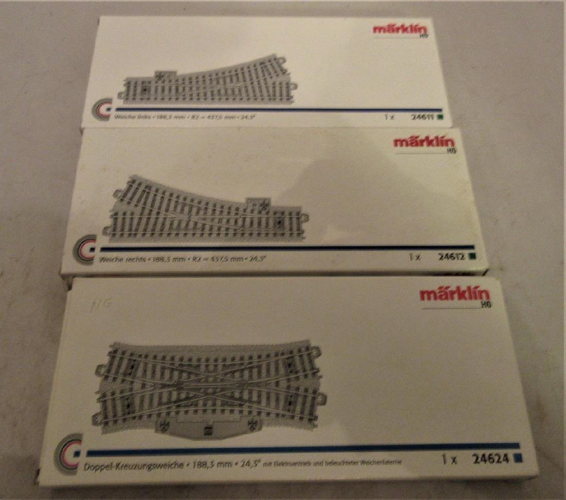 Marklin HO Scale switches