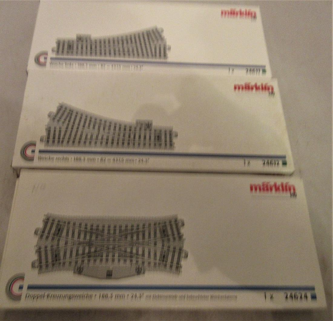 Marklin HO Scale switches - 2