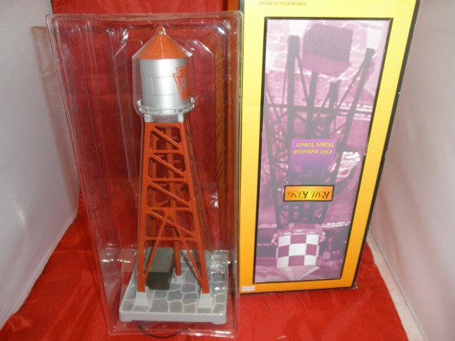 """3: MTH PRR """"193"""" INDUSTRIAL WATER TOWER OB"""