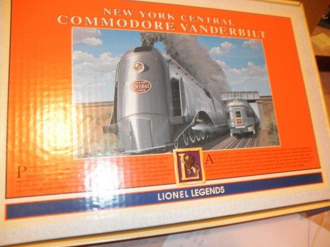 5: LIONEL 18045 NYC O GAUGE COMMODORE VANDERBILT STEAM
