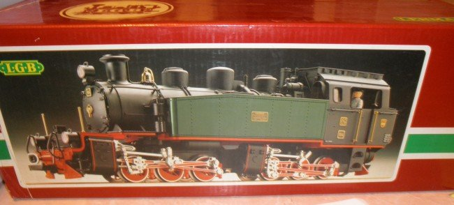 7: LGB 2085D G SCALE ARTICULATED STEAM ENGINE OB