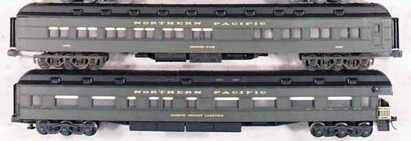 9: LIONEL/WILLIAMS NP O GAUGE HEAVYWEIGHT CARS