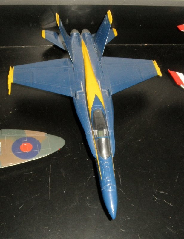 CDC ARMOUR NAVY BLUE ANGELS JET FIGHTER