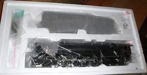 3RD RAIL BRASS PRR O GAUGE STEAM TURBINE ENGINE OB