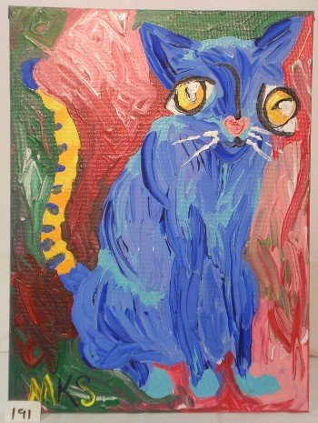 12: Abstract Cat