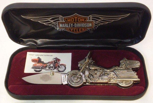 5: Harley Davidson Collectors knife