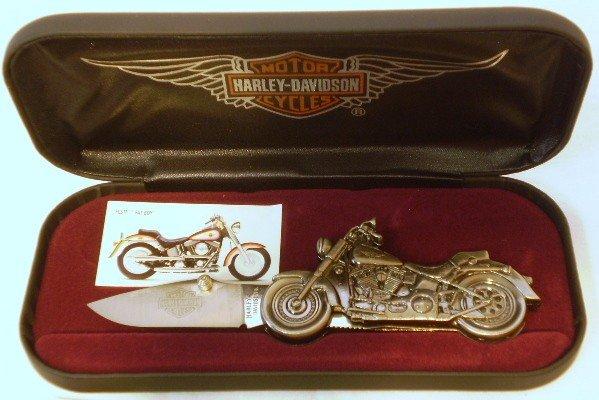 6: Harley Davidson Collectors knife