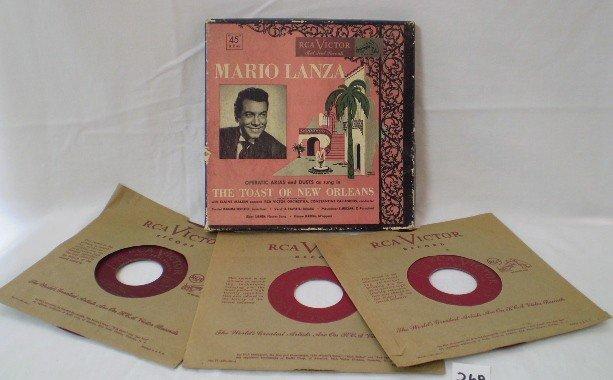 15: Mario Lanza Record Set