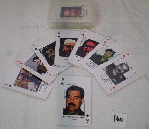 18: Iraqi Bad-guys Playing Card