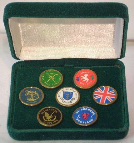 19: Assortment of UK Ball Markers