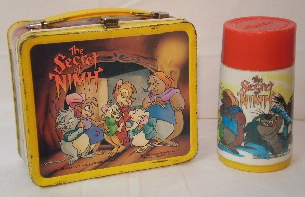 """21: """"The Secret of Nhim"""" Lunch Box and Thermos"""