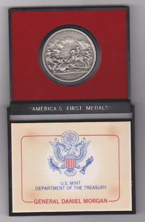 5: Americas First Medals commemorative Coin