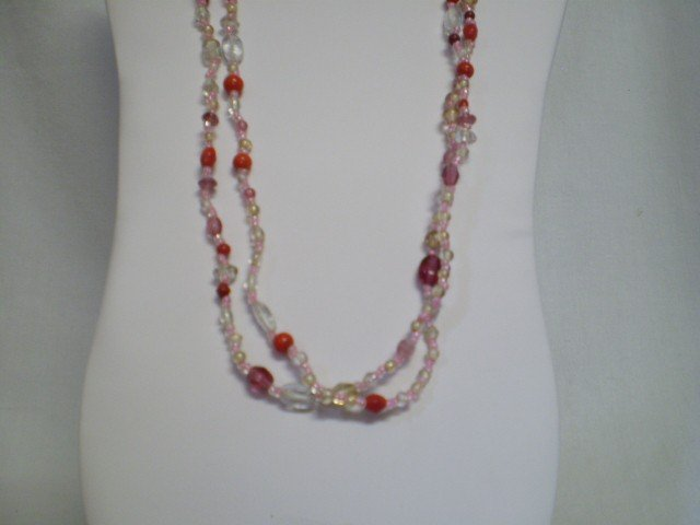 """13: 56"""" Beaded Necklace"""