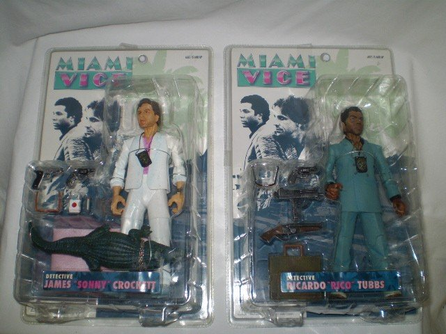 5: Miami Vice Action Figures New in Boxes