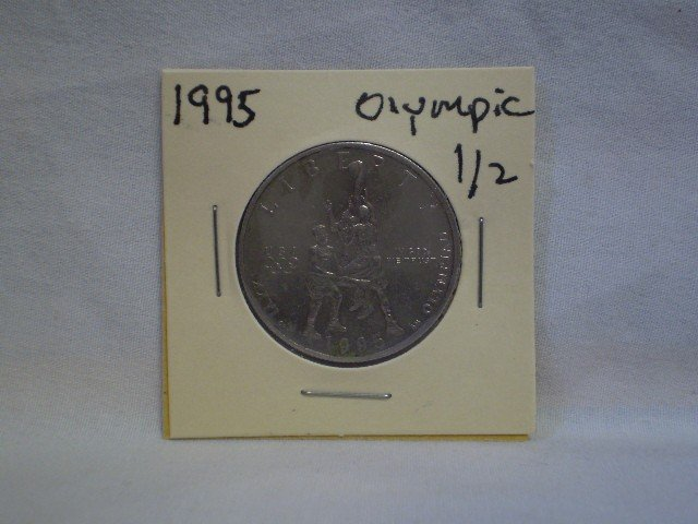 11: 1995 Olympic 1/2 Dollar