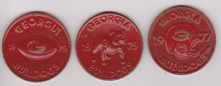 15: 3 UofGA Schedule Coins