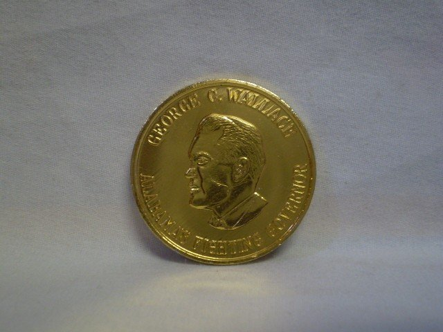 20: George Wallace Coin