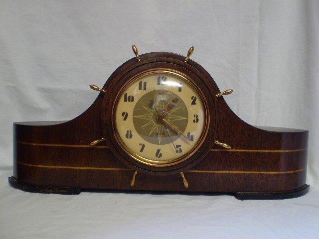 171: Vintage Ships Bell Clock