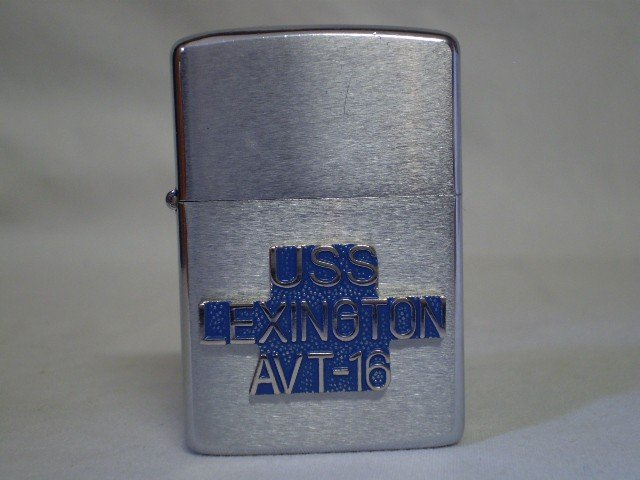 11: Zippo Lighter, USS Lexington