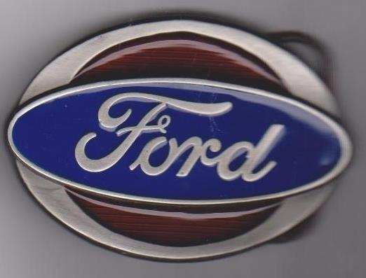 12: Handsome Ford Belt Buckle