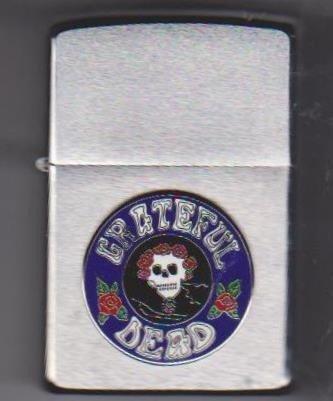 14: Grateful Dead Zippo Lighter