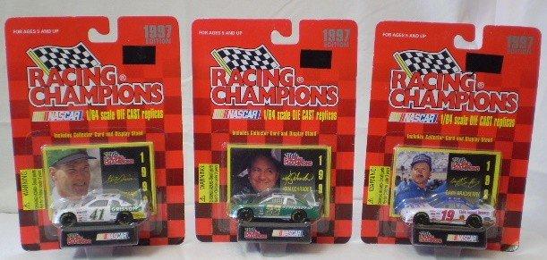 19: 3 1997 Racing Champions