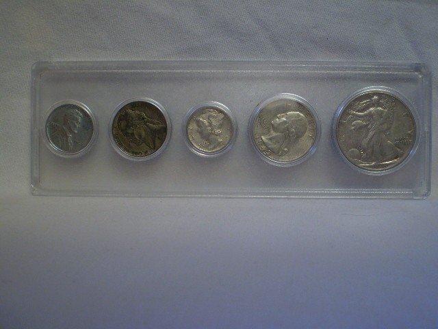 57: 1943 Coin Set