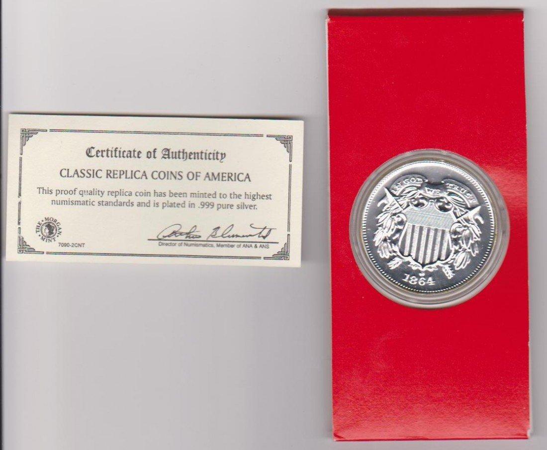 7: Classic American replica coin