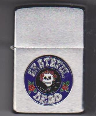 10: Greatful Dead Zippo