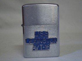 Zippo Lighter, USS Lexington