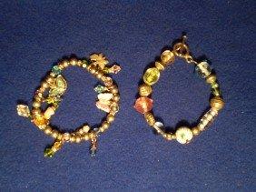 18: 2 Nice Beaded Bracelets