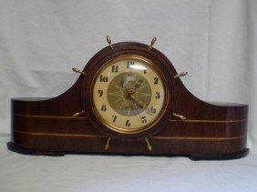 126: Vintage Ships Bell Clock