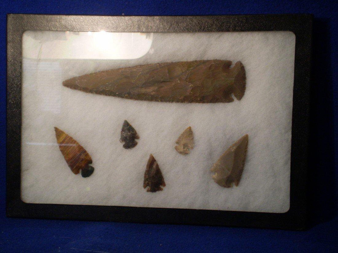 "156: 7.5"" Searhead & Arrowhead Collection"