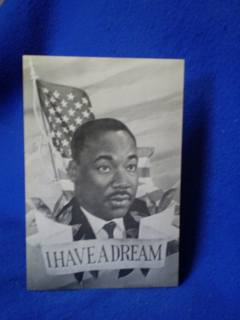 16: Vintage MLK Postcard