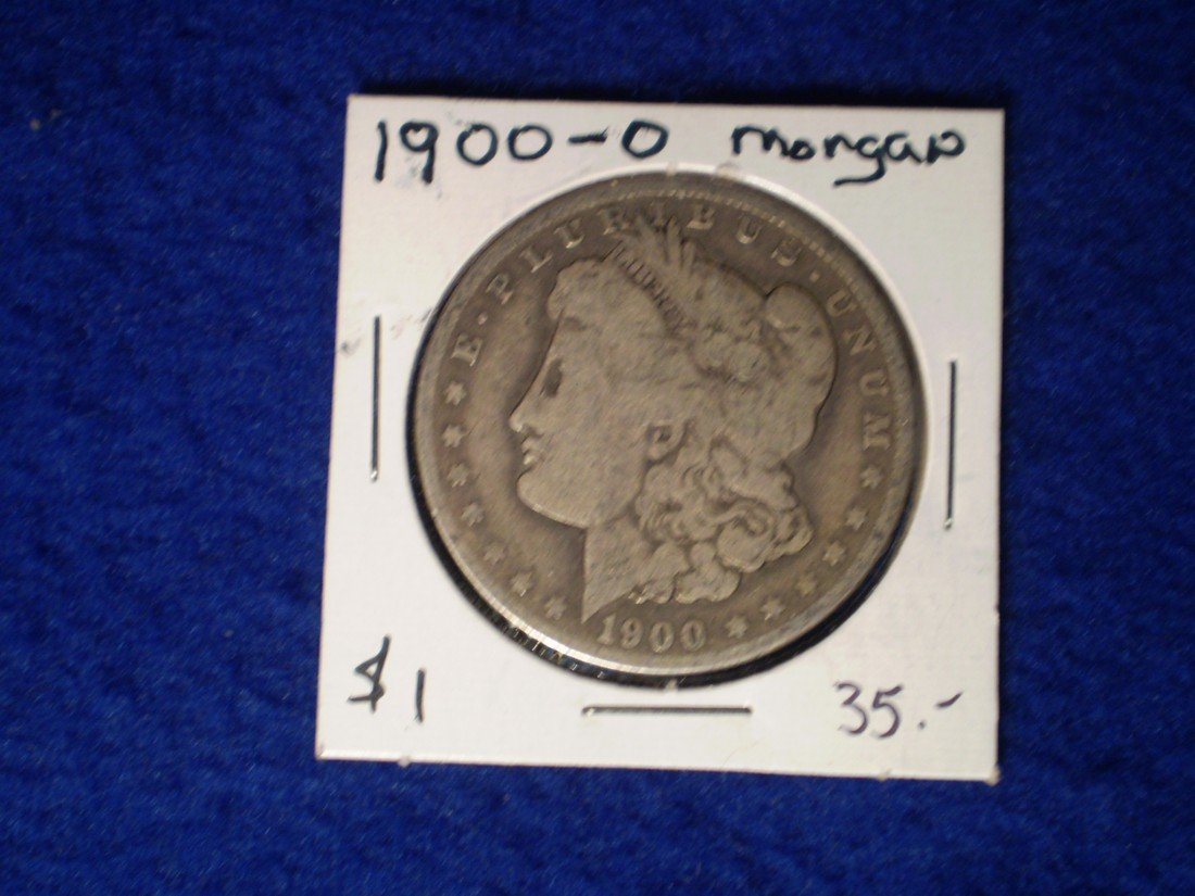 184: 1900-o Morgan Silver Dollar