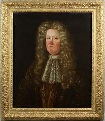 86: 18th Century English portrait of Richard Chesney